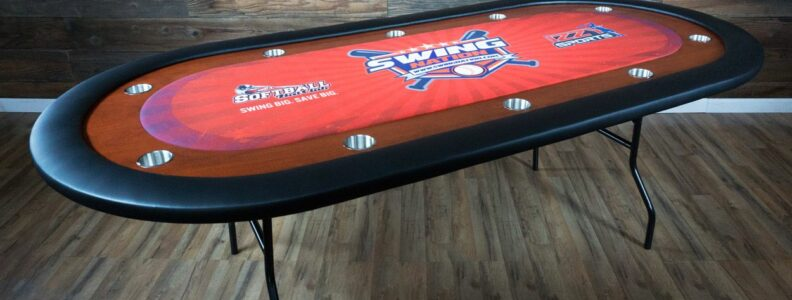 A Critical Review of the Folding Oval Poker Table